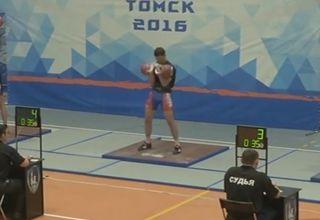 Всероссийские соревнования студентов по гиревому спорту 2016